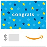 Amazon eGift Card - Congrats (Stars)