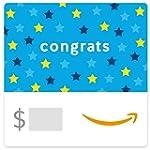 Amazon eGift Card - Congrats (Stars)