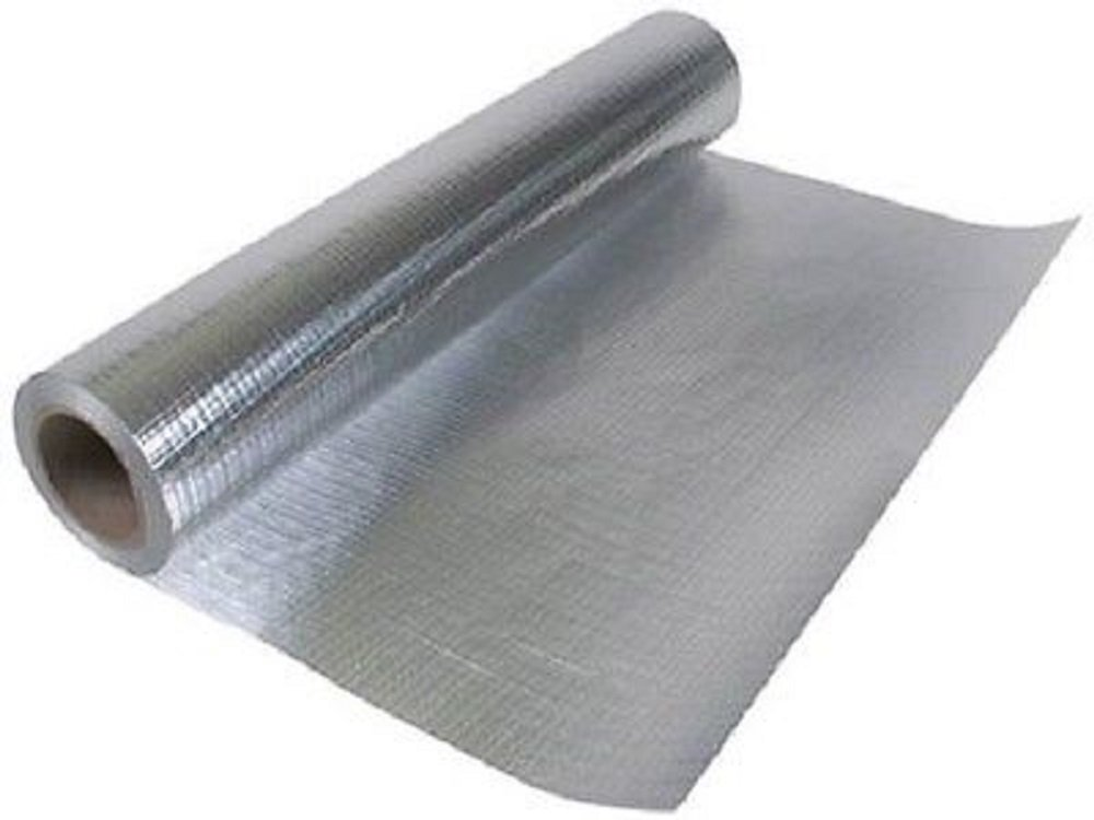 Radiant Barrier Perforated Reflective Insulation 25.5'' 1000 sqft Attic Foil