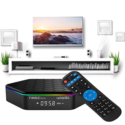 YAGALA T95Z Plus Android 7.1 TV Box Amlogic S912 Octa Core 3GB/32GB Dual Band WiFi 2.4GHz/5.0GHz 4K HD TV Box with Backlit Mini Wireless Keyboard by YAGALA (Image #1)