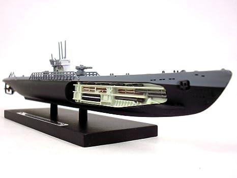 amazon com german type ix submarine u 181 1 350 scale diecast metal