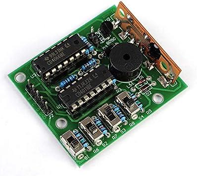 10PCS Kits de producción de música electrónica DIY 16 Kits de caja de música 16 Caja de sonido para Arduino Módulo de producción de música DIY: Amazon.es: Bricolaje y herramientas