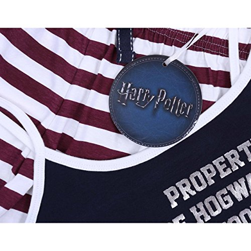 Harry Potter HOGWARTS Tolles Damen Schlafanzug-Set, kurz Pyjama, Nachtwäsche