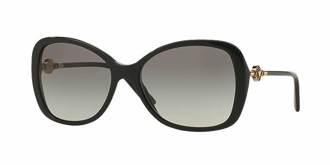 64026f4156 Versace Womens Sunglasses (VE4303) Black Grey Acetate - Polarized - 58mm