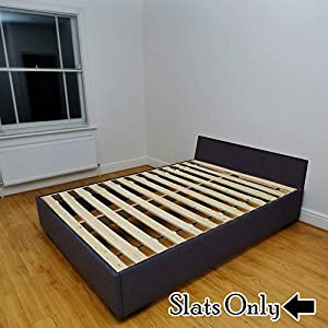 continental sleep standard wooden bunkie board with slats twin x large kitchen. Black Bedroom Furniture Sets. Home Design Ideas