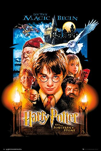 Harry Potter And The Sorcerer's Stone - Movie Poster / Print (US Regular Style) (Size: 24