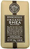 Greenscape Organic Shea Butter Triple Milled Moisturizing Soap Bar 10.58 Oz