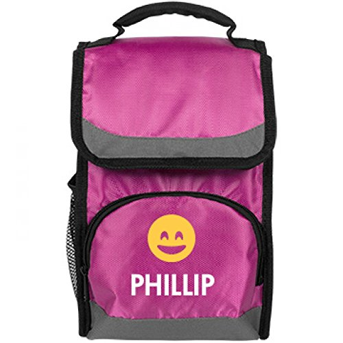 cool-smiling-emoji-kids-bag-for-phillip-port-authority-flap-lunch-cooler-bag