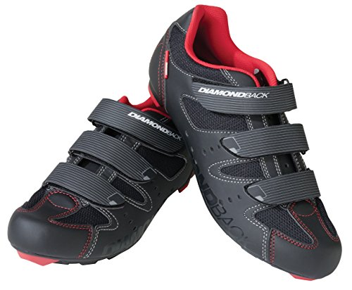 Road Mens Bike Shoes (Diamondback Men's Century Clipless Road Cycling Shoe, Size 49 EU/14-14.5 US)