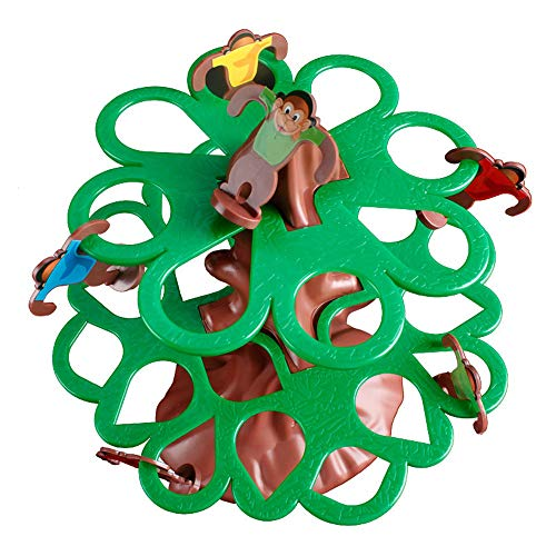 HOT Falling Tumbling Monkey Family Toy Climbing Tree Swing Board Game Kids ()