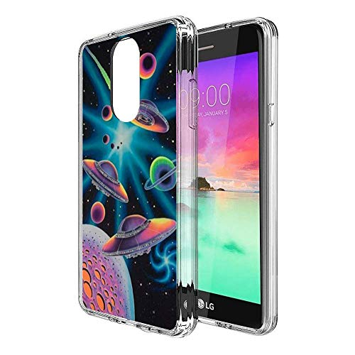 - Case for LG Stylo 4, Penard Series Clear Scratch-Resistant Shock Absorption Flexible Protective Cover, LG Stylo 4 Phone Case Space Shuttle