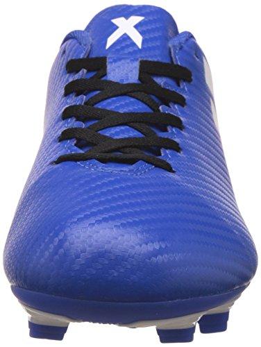 adidas X 16.4 Fxg, Botas de Fútbol para Hombre Azul (Blue / Ftwr White / Shock Pink)
