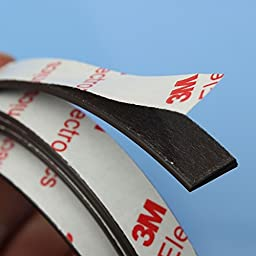 1m Self Adhesive Magnetic Strip Magnet Tape Strong Magnet 12x2mm