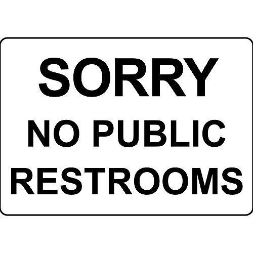 Lo Siento No Aseos públicos de la novedad al aire libre ...