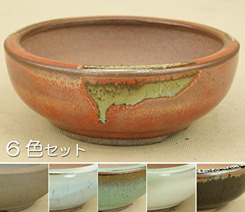 いよじ園 小石原焼/切立胴張丸鉢/6色セット/ミニサイズ