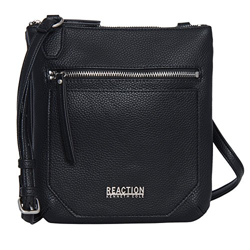 Kenneth Cole Reaction Cassady Mini Cross body Bag (Black) by Kenneth Cole REACTION