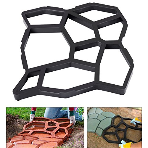 Pavement Mold Maker Concrete Stepping Path Walk Maker Paving Driveway Patio Garden - Baton Rouge Frame Shop