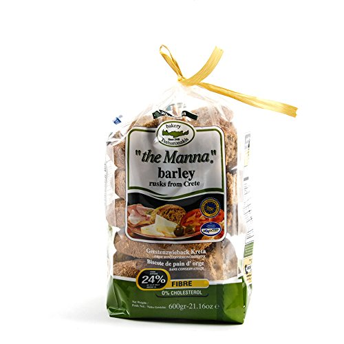 Tsatsaronakis the Manna Greek Barley Bread Big Cretan Rusk 600g