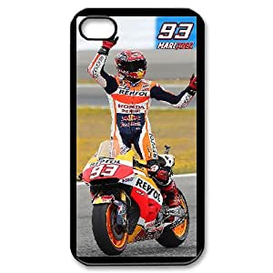 Marc Marquez Phone Case And One Free Tempered-Glass Screen Protector For iPhone 4,4S T237899