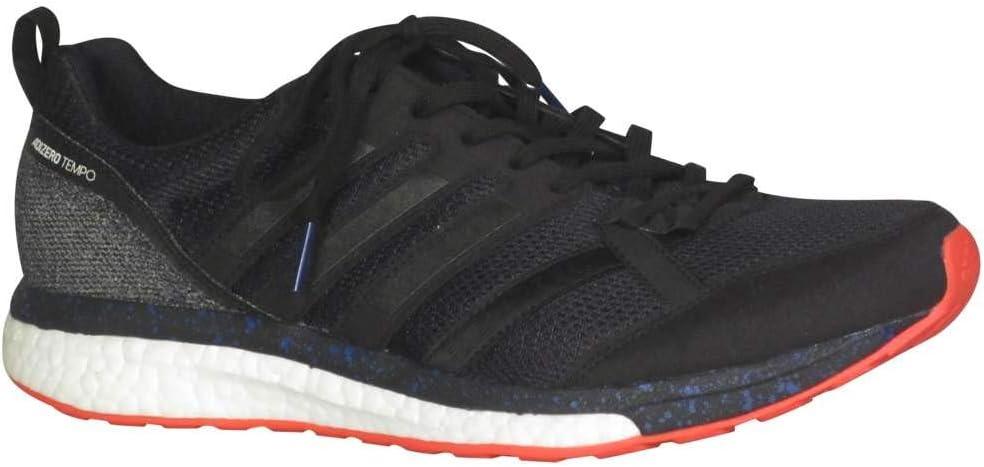 tema conjunción sobresalir  Amazon.com: adidas Adizero Tempo 9 Aktiv Black/Black Running Shoes  (CP9367): Sports & Outdoors