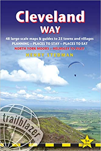 Cleveland Way Guidebook (Trailblazer)