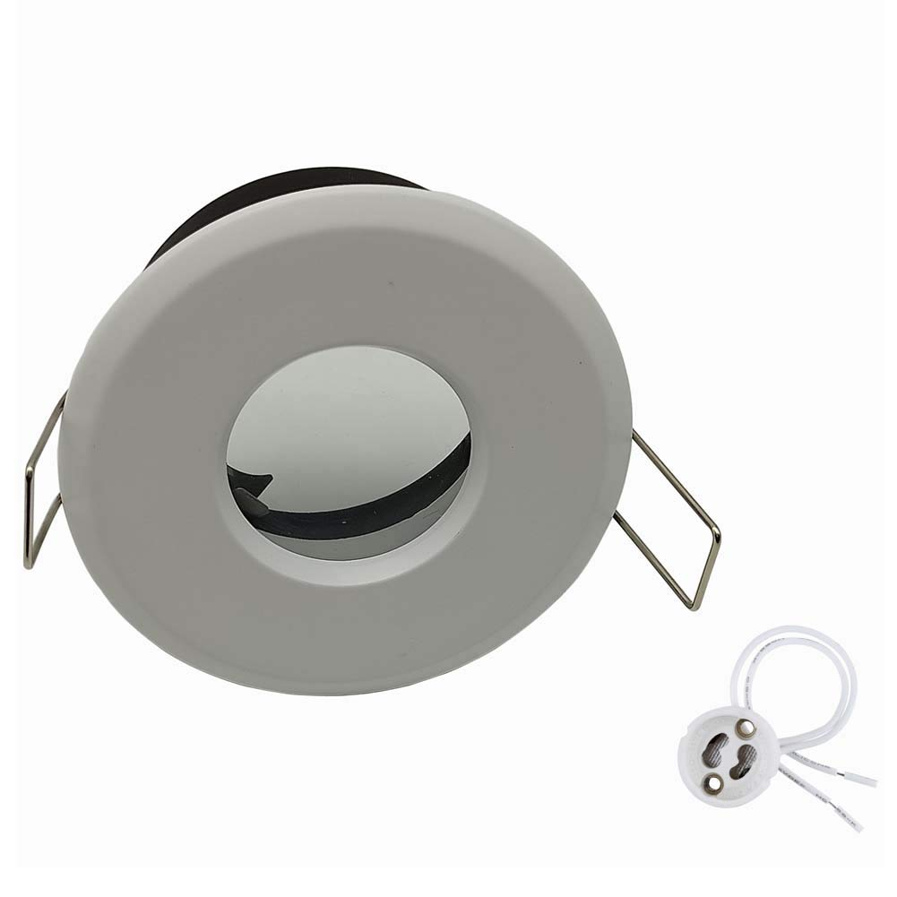 Downlight Bathroom GU10 Fitting Ceiling spot Lights Recessed downlights for Bathroom Shower Down Light fixtures