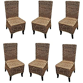 Amazon.com - Madison Luxe Collection Mahogany Seagrass ...