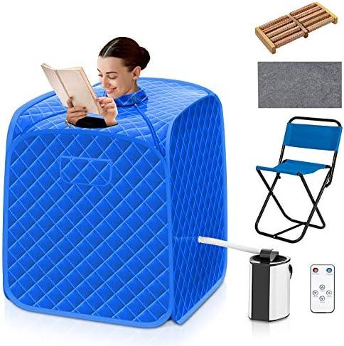 COSTWAY Portable Steam Sauna