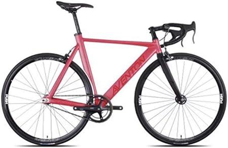CE-LXYYD Bicicleta voladora con Mosca Muerta con Marco de aleación competitiva para Bicicleta de montaña, Coche de Carreras, sintético, Rojo, 52 cm: Amazon.es: Hogar