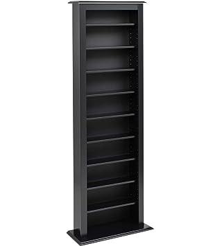 black storage cabinet. Prepac Slim Barrister Tower Storage Cabinet, Black Cabinet