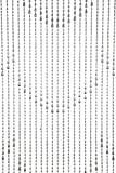 Cheap ShopWildThings Beaded Curtain Raindrops Silver Metallic over Acrylic