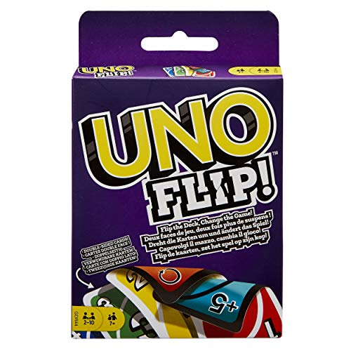 Mattel Games UNO: Flip! - Card Game, Multicolor, Standard (GDR44)