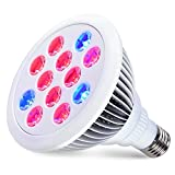 Cheap LED Grow Lights Bulb For Indoor Plants Hydroponic 12W E27 Garden Growing Light Lamp