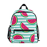 Watermelon Printed Kids Backpack Students School Book Bag Travel Casual Daypack
