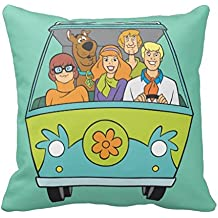 Scooby Doo Pose 71 Throw Pillow Case Cars Pillow Cover