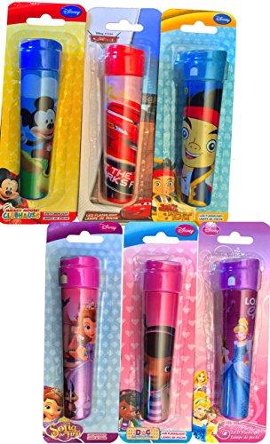 Disney Themed Children's Boys and Girls Led Flashlights D...