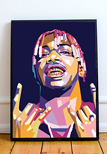 Amazoncom Abstract Art Prints Lil Yachty Limited Poster Artwork