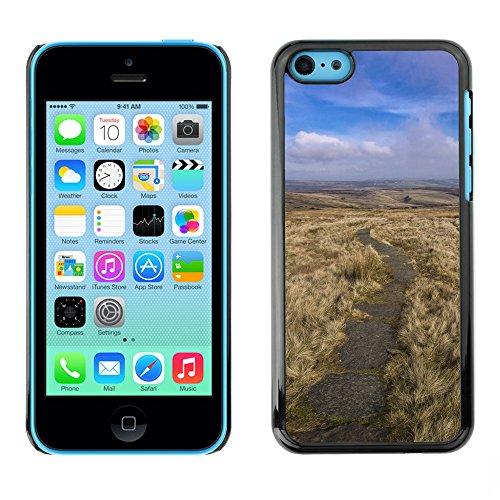 Premio Sottile Slim Cassa Custodia Case Cover Shell // F00028407 vallée sec // Apple iPhone 5C