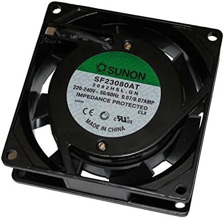 Fan/Ventilador 230V 14W 80x80x25mm 29m³/h 29dBA ; Sunon SF23080AT2082HSL