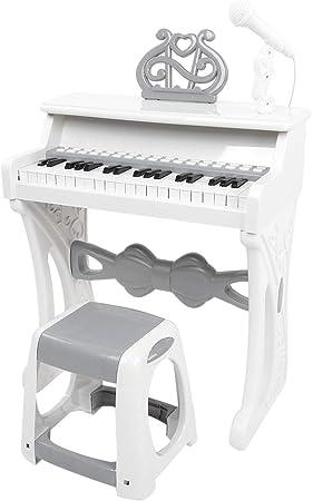 Juego de teclado electrónico para niños, piano digital ...