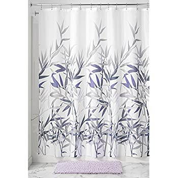 Amazon.com: InterDesign Thistle Fabric Shower Curtain 72 x 72 Inch ...