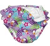 i play. Swim Diaper,3 Months,Lavender Toucan