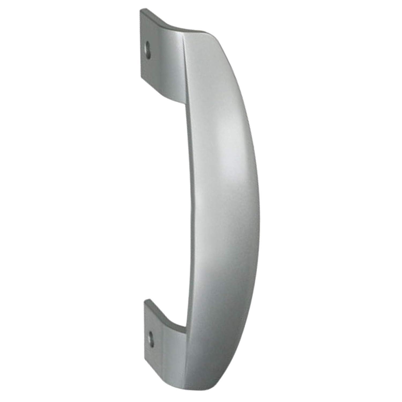 Spares2go Door Handle for LEC TF5586S, TF5586W Fridge Freezer/Refrigerators (Silver)