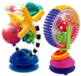 Baby : Sassy Illumination Station with Wonder Wheel High Chair Activity Toys