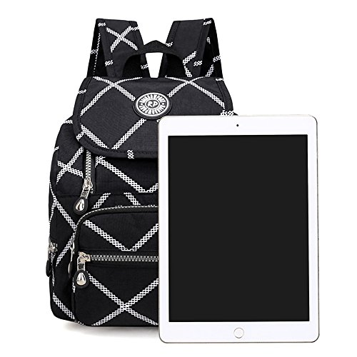 Waterproof Casual Purse for Small Lightweight Square Backpack Large Girl Nylon Women Daypack Mini 5qrc4qFg