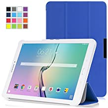 Tisuns Samsung Galaxy Tab 3 Lite / Tab E Lite 7.0 Case - Ultra Slim Lightweight Stand Cover for Samsung Galaxy Tab 3 Lite 7.0 SM-T110 / SM-T111 / Tab E Lite SM-T113 7-Inch Tablet, Blue