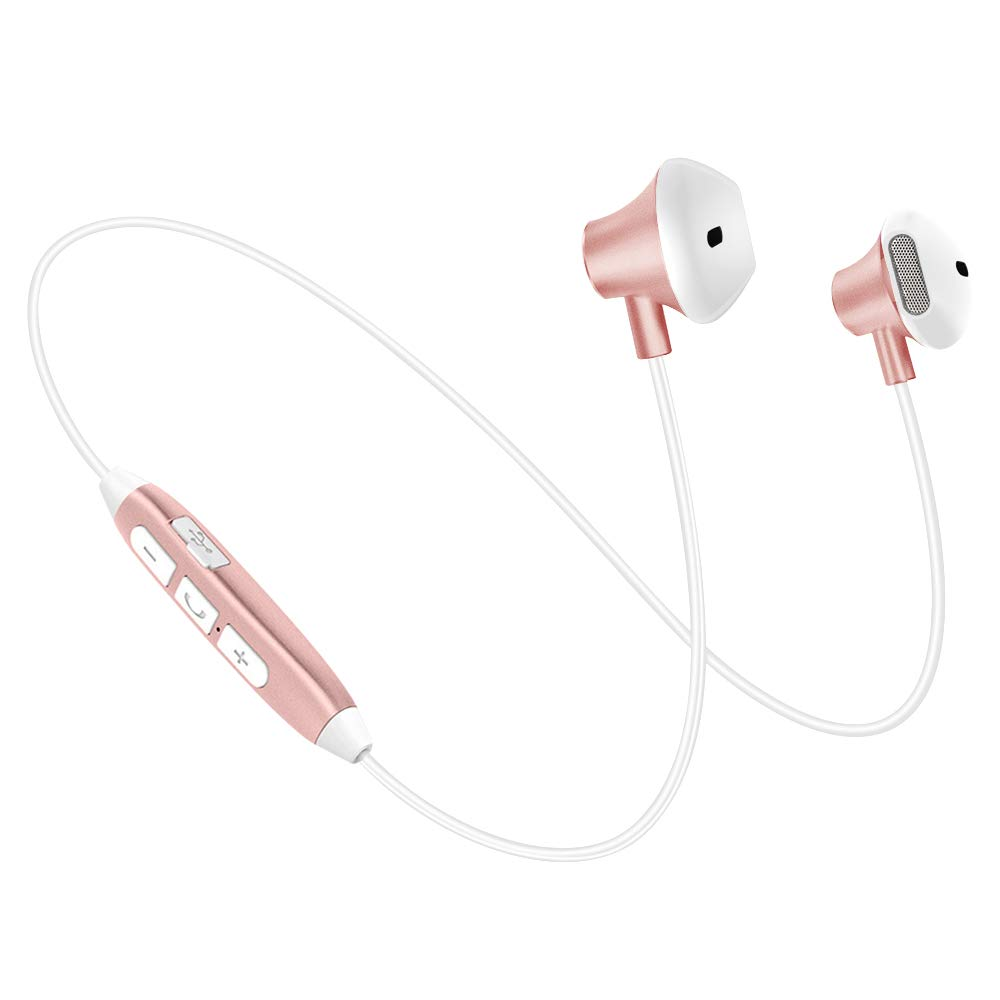 SOUND ISOLATING RETRACTABLE HEADSET EARPHONES EARBUDS w MIC for PHONES /&TABLETS