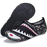 Barerun Barefoot Quick-Dry Water Sports Shoes Aqua Socks for Swim Beach Pool Surf Yoga for Women Men (M(W:6.5-7.5),Green)