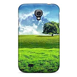 Galaxy S4 Case Cover - Slim Fit pc Protector Shock Absorbent Case (freedom)