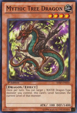 (Yu-Gi-Oh! - Mythic Tree Dragon (SHSP-EN010) - Shadow Specters - 1st Edition - Common)